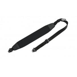 RYPO - neopreninis diržas šautuvui su kilputėmis juodas